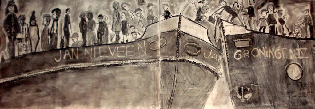 100108 TEKENING scheepsramp door Eben Haezer