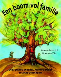 omslag Een boom vol familie