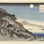 Herfstmaan te Ishiyama, Hiroshige, Takenouchi Magohachi (Hoeido), 1833 - 1837. Collectie Rijksmuseum