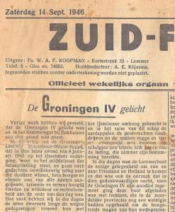 1946 Krant Gr IV  14-9-1946 DETAIL