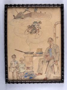 Han Rehm; hongertocht van Griet Bartlema 1945