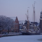 Winter in Lemmer; Sieneke de Rooij