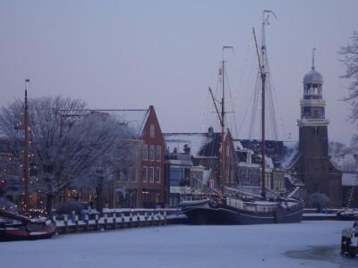 Winter in Lemmer; Sieneke de Rooij