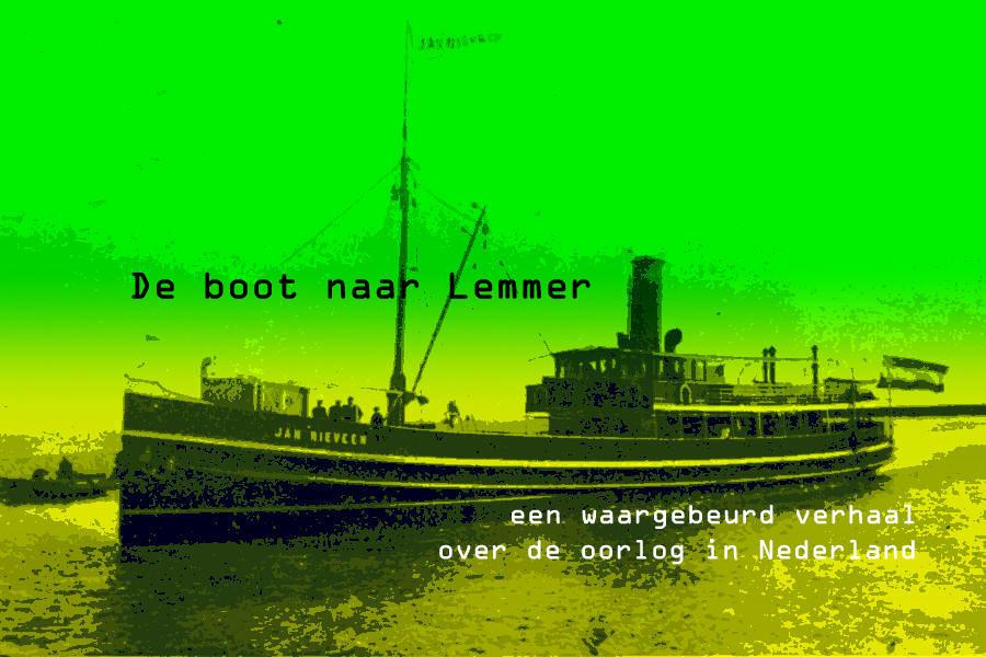 De boot naar Lemmer Sieneke de Rooij